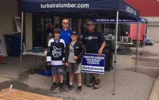 Dundas BBQ Employee Community Customer 2017 Turkstra Lumber