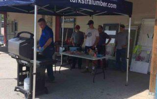 Dundas Community Employee Customer BBQ 2017 at Turkstra Lumber Dundas