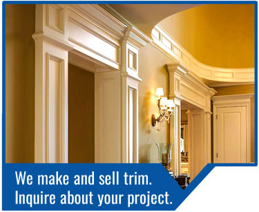 Turkstra Trim & Doors. Ask us to quote your project. We have all kinds of trim for any project. We also manufacture trim and can customize to your specifications. We have industry leading warranties and supply DEL, Ostaco and Jeld-Wen windows.