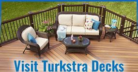 Visit Turkstra Decks Replacement New Stain Pressure Treated Cedar Fence