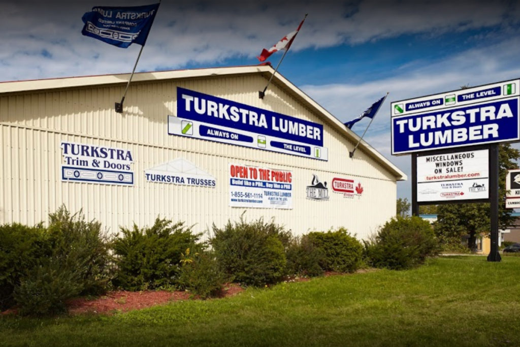Turkstra Lumber Niagara Falls. Framing material supplier for building. residential, industrial, commercial, farming. We carry insulation, plumbing, siding, doors, windows, gate hardware and decking material.