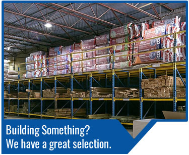 Building or renovating? Whether you're a seasoned professional or a DIYer, Turkstra Lumber has all the building materials you need to get you started. From drywall, shingles and roofing materials, concrete and masonry, insulation (batt, board, or blown-in), to ceiling systems, brand name tools, plumbing, decking, steel studs, and siding, if there's a building material you're looking for, Turkstra has it.