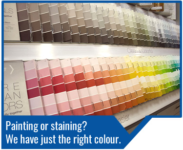 Turkstra has a great selection of paints and stains perfect for your interior, exterior or deck/ wood staining projects. Visit any one of our 11 locations to find the right colour for your home. Our courteous staff would be happy to help you find the right products for you.