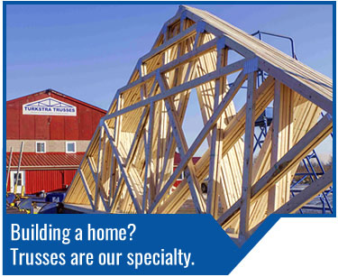 Turkstra Trusses - Custom residential, agricultural, commercial, industrial trusses manufactured by Turkstra. Ask us for an estimate or quote.