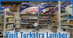 Visit Turkstra Lumber. We carry a great selection of building supplies for residential, commercial, farming and industrial. We have drywall, shingles, roofing, concrete, plumbing, decking, masonry, insulation, steel studs and more.