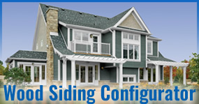 Cape Cod Wood Siding Configurator
