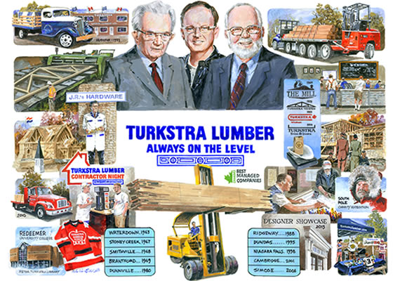 Turkstra Lumber - Staff Diversity - Winner of 2020 Gold Standard - Best Managed Companies